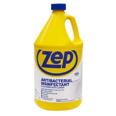 1608516010_26006030ImageZepAntibacterialDisinfectantCleanerwithLemonZUBAC128ProfessionalUse.jpg
