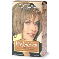 Image LOreal Preference Haircolor Medium Ash Blonde 7 1 2Ajpg